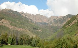 View from the Vail Golf Course