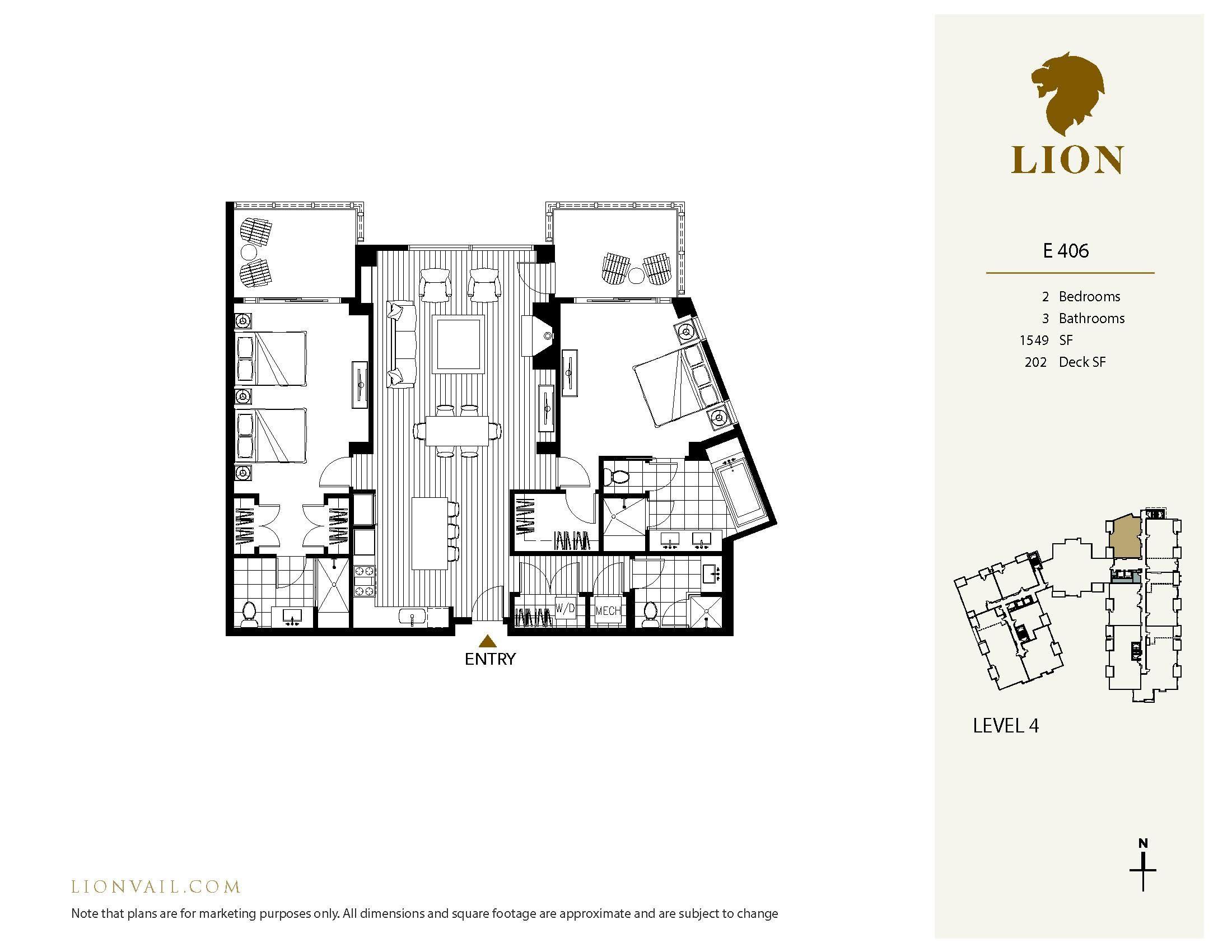 701 W Lionshead Circle West E406 Vail, CO 81657