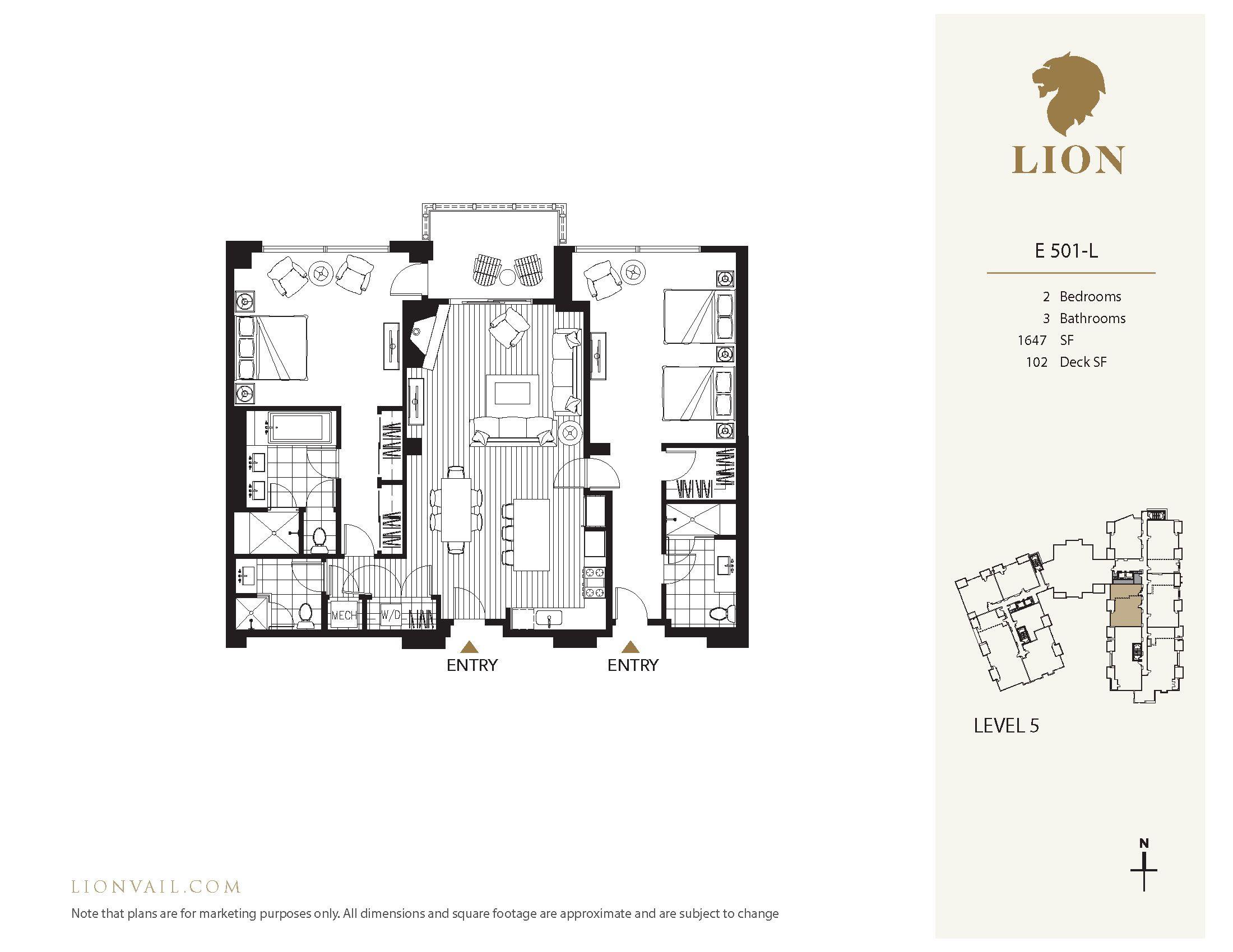 701 West Lionshead Circle - E501 Vail, CO 81657