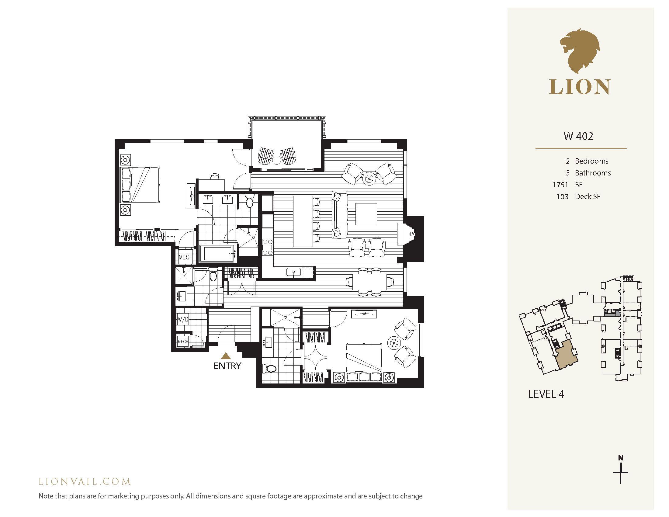 701 Lionshead Circle West W402 Vail, CO 81657