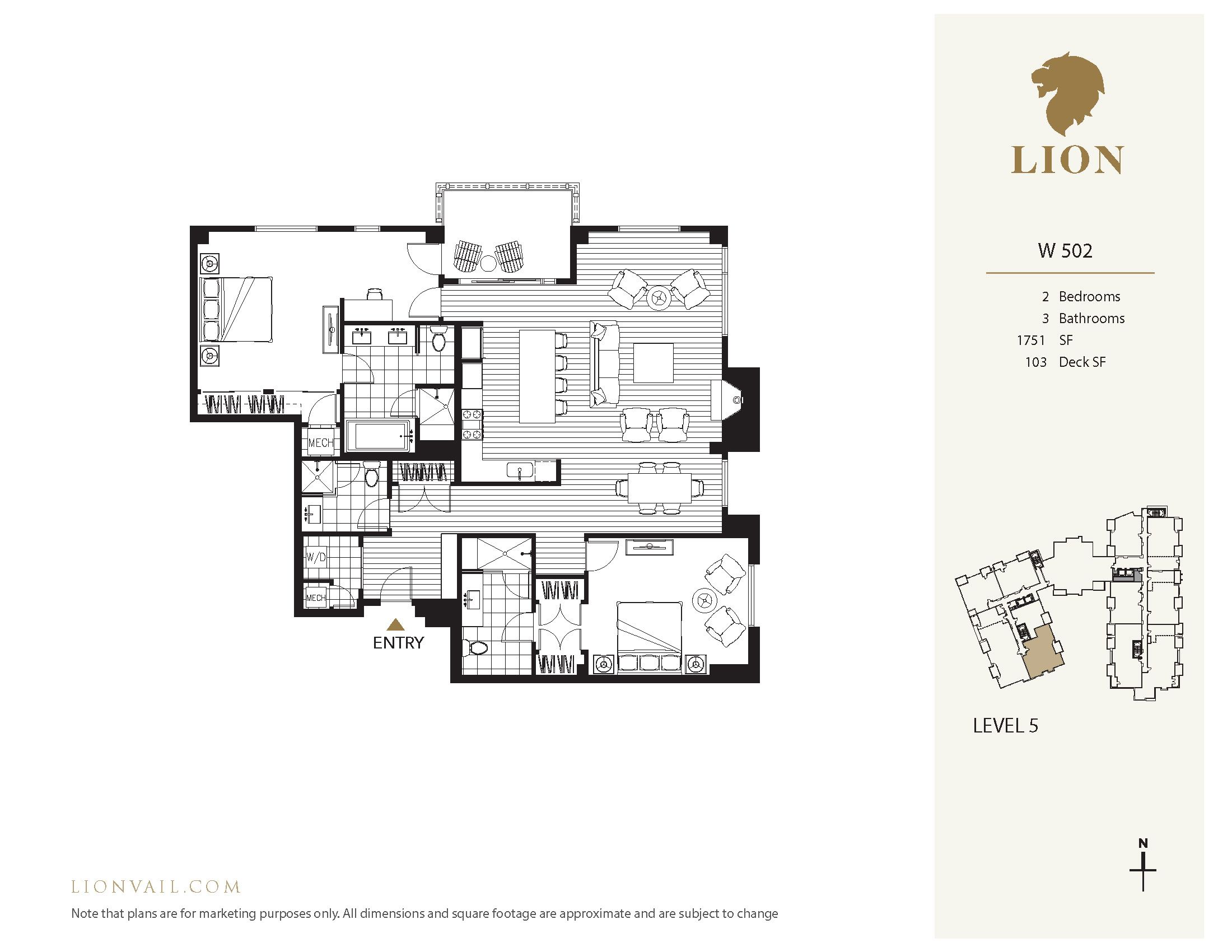 701 West Lionshead Circle - W502 Vail, CO 81657
