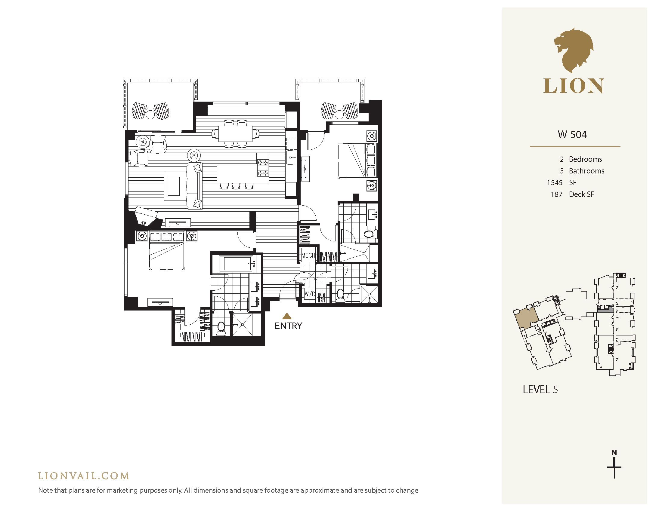 701 West Lionshead Circle - W504 Vail, CO 81657