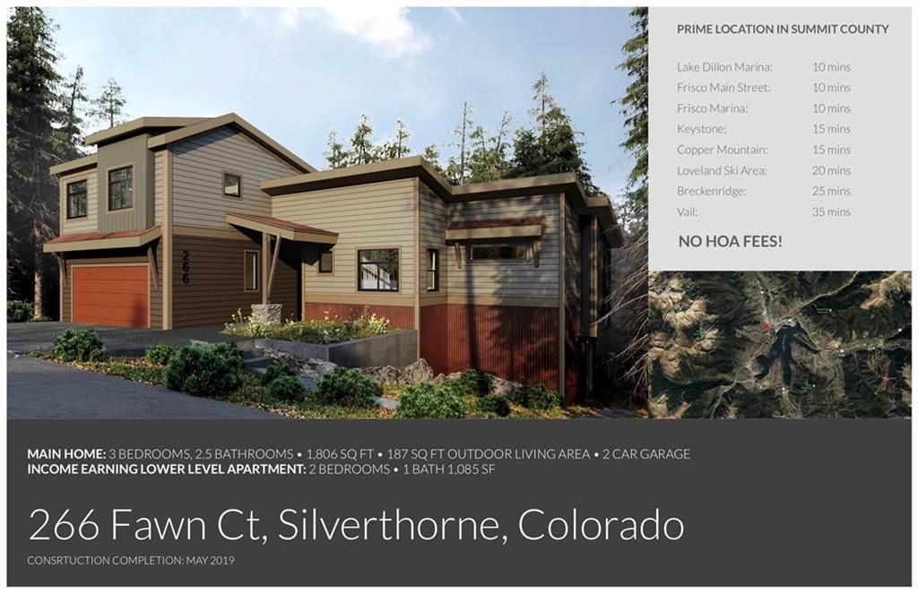 266 Fawn COURT SILVERTHORNE, Colorado 80498