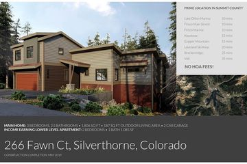 266 Fawn COURT SILVERTHORNE, Colorado
