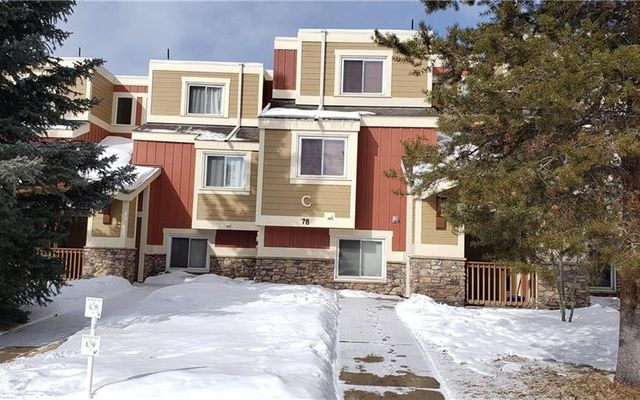 78 Summit Drive #5 DILLON, CO 80435
