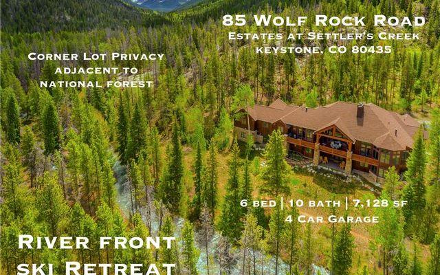 85 Wolf Rock Road KEYSTONE, CO 80435