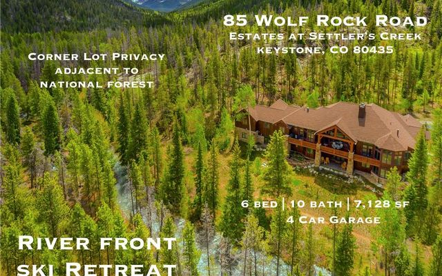 85 Wolf Rock Road KEYSTONE, CO 80435