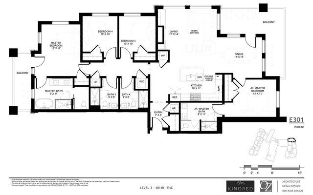 Kindred Residences e301 - photo 2